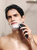 Electric wet shaving