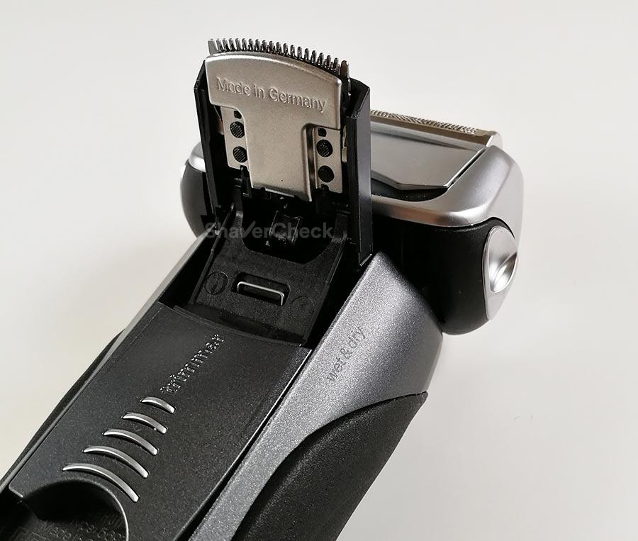 Braun easy lock system