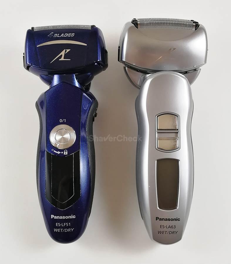 Panasonic ES-LF51-A vs Panasonic ES-LA63-S