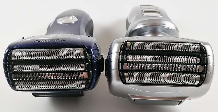 Panasonic ES-LF51-A shaving head vs the ES-LA63-S