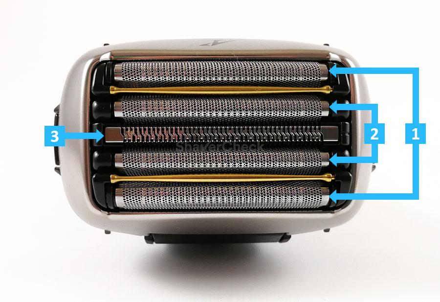 Panasonic ES-CV51 (ES-CV70) shaving elements