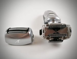 A shaver with sharp, high-quality blades is key for a comfortable shave.
