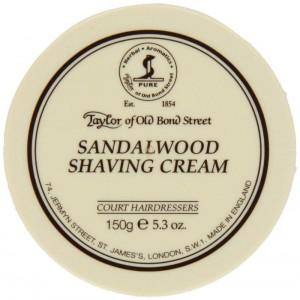 TOBS Sandalwood Shaving Cream