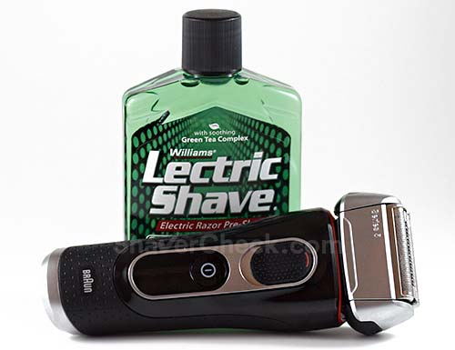 Williams Lectric Shave, one of the more reasonably priced pre shaves you can buy.