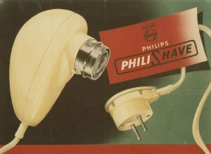 "The Philips ""Egg"" razor from 1948."