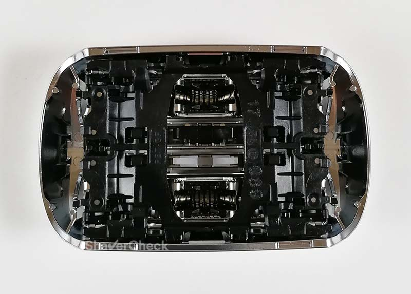 The inner part of a Braun Series 9 cassette