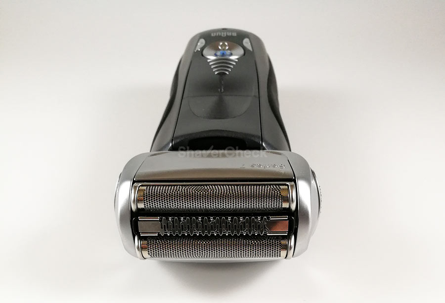 The Braun Series 7, still one of the most popular electric shavers out there.