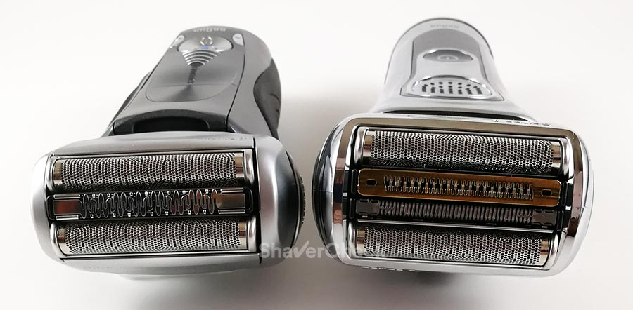 Braun Series 7 vs Series 9 shaving heads comparison