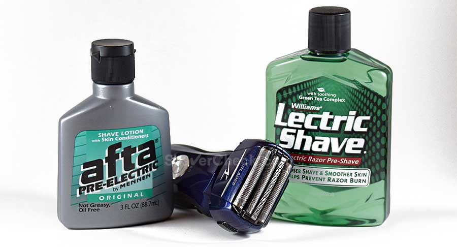 Using a pre-shave to improve the closeness of the shave.