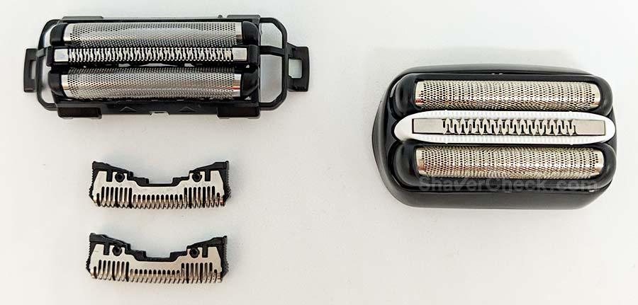 Arc 3 vs Series 3 foils and blades.