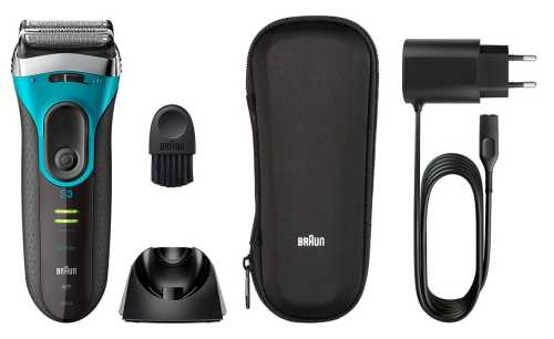 Braun Series 3 ProSkin 3080s accessories.