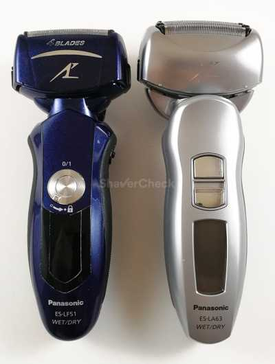 Arc 4 shavers with the arched shape of the foils.