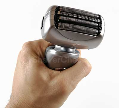 The shaving head of the Panasonic Arc 4 ES-LA63-S.