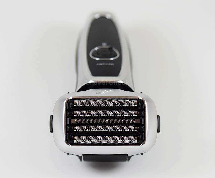 The Panasonic Arc 5 with its 5-blade shaving head.