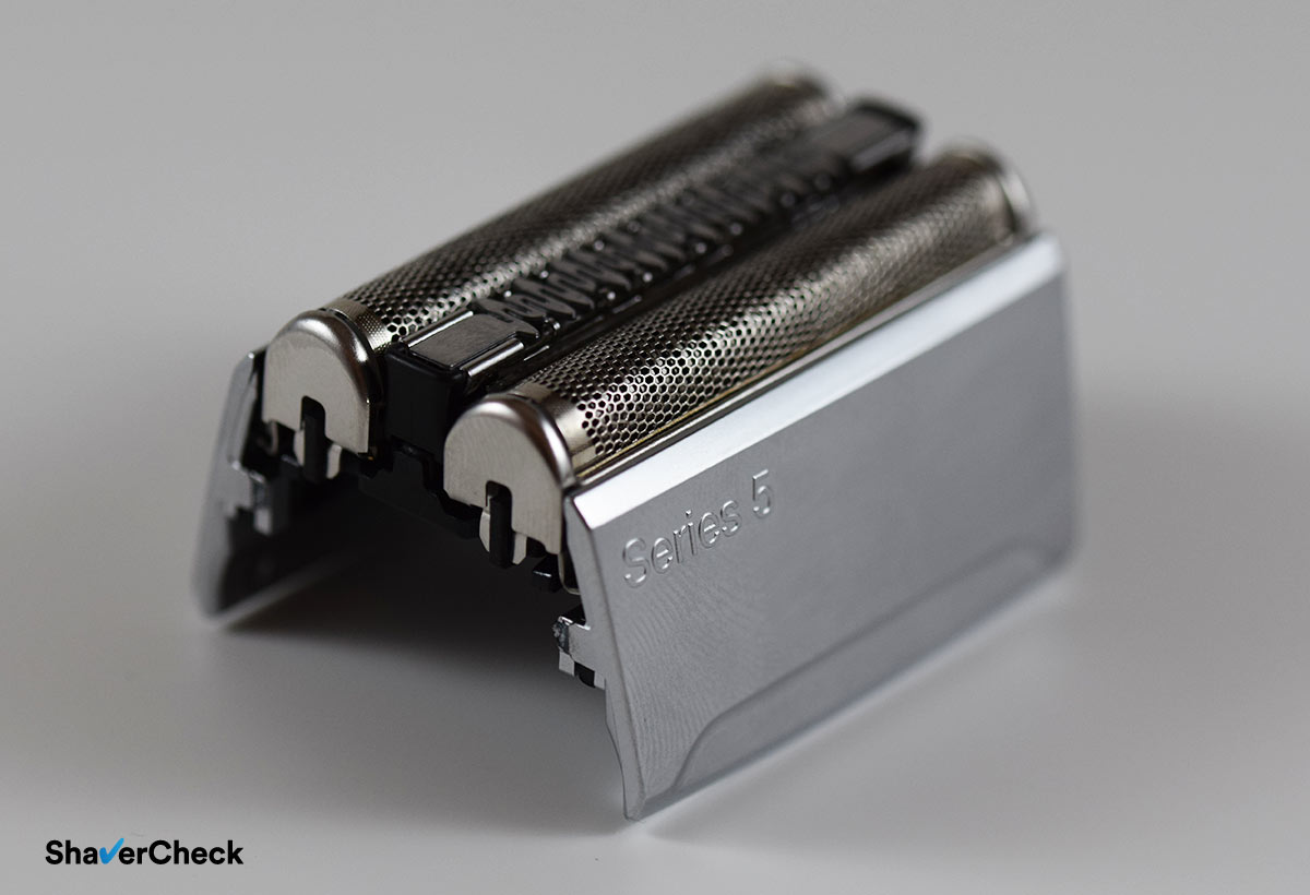The 52s cassette used by the Series 5 line of shavers from Braun.