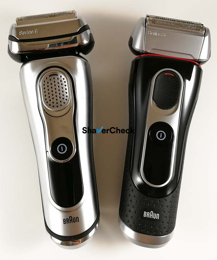Braun Series 9 vs Series 5.