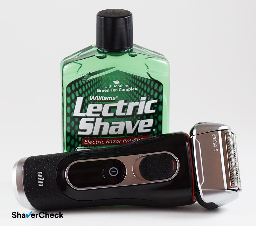 A pre-shave can reduce the risk or razor burn.