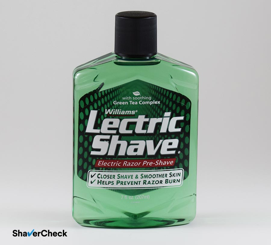 Williams Lectric Shave Electric Razor Pre Shave Does It Really Work