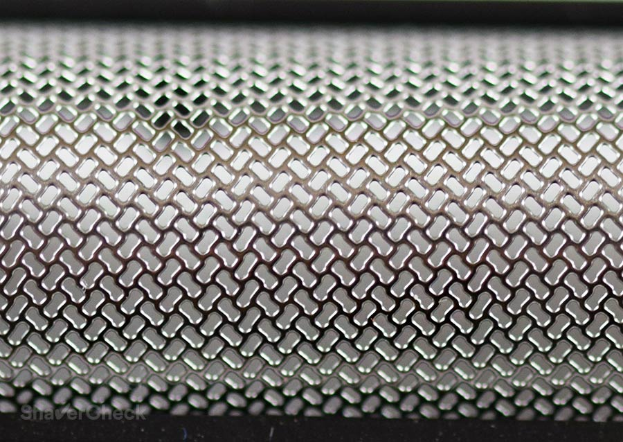 Panasonic ES3831K foil pattern