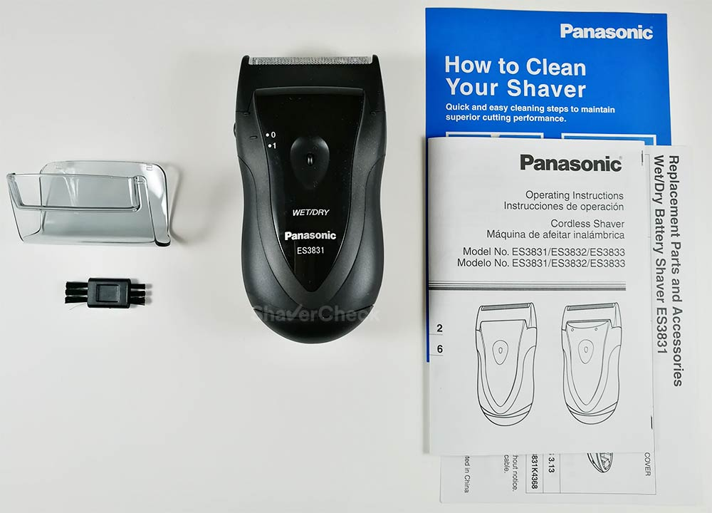 panasonic es3831k review portability on the cheap u2022 shavercheck rh shavercheck com Panasonic Viera Manual Panasonic Manuals Servo Motors
