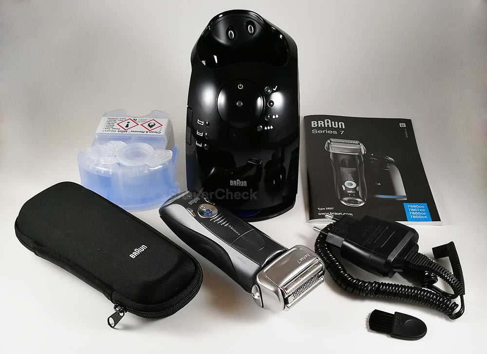 Braun Series 7 7865cc accessories