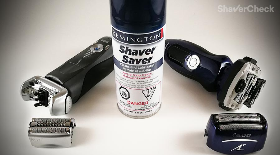 How To Clean Your Electric Shaver Using a Spray Cleaner And Lubricant