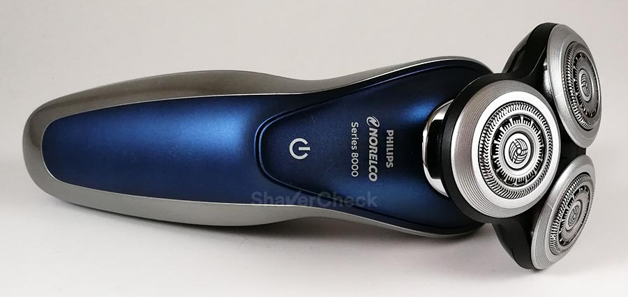 Philips Norelco 8900, a more reasonably priced rotary razor.