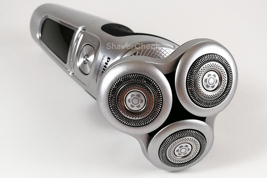 The new Philips Series 9000 Prestige shaving heads