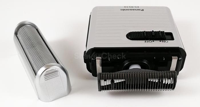 The Panasonic ES-RS10 has a single foil shaving system