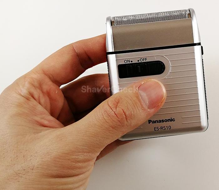 Panasonic ES-RS10 size