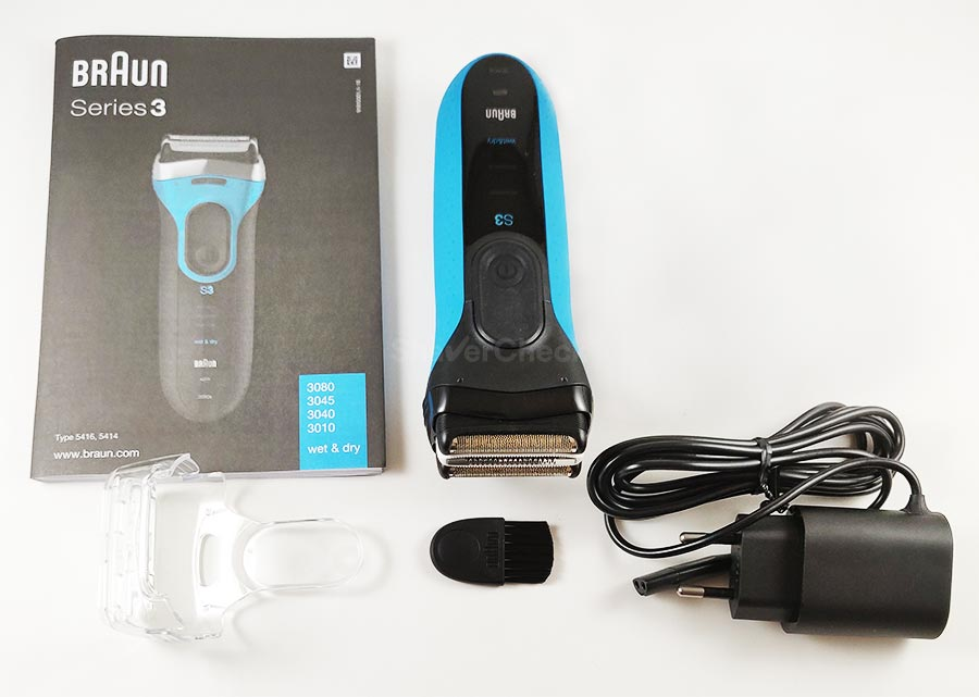 Braun 3010s accessories