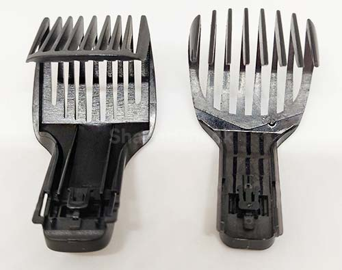 Philips BG7030 comb (left) vs BG2040 (right)