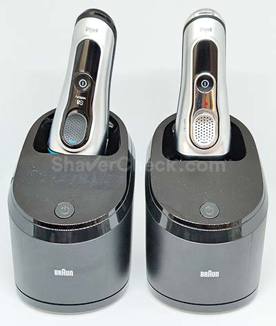 Braun Series 8 and 9 cleaning stations.