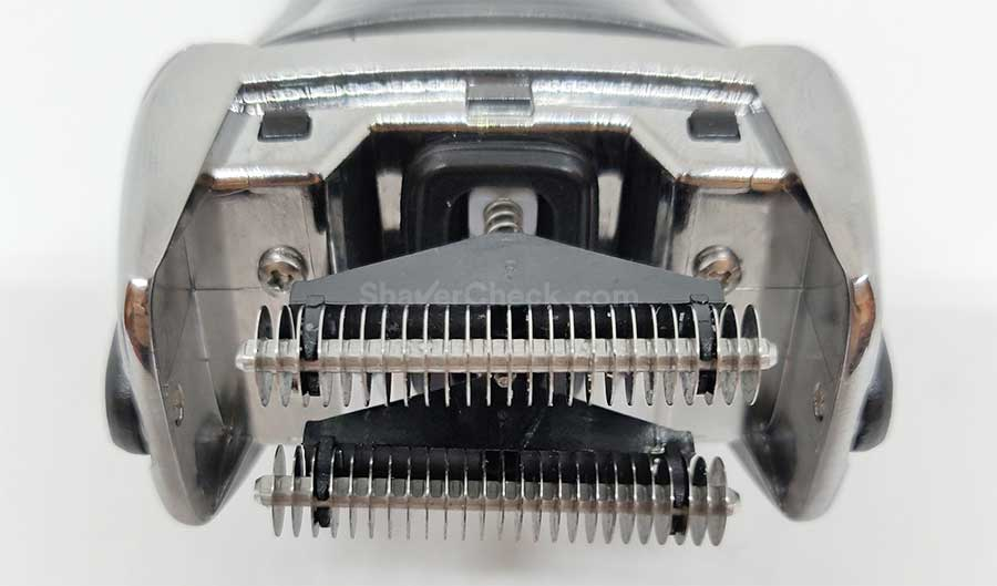 The exposed inner blades of the F5-5800.