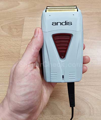 The Andis ProFoil will operate both corded and cordless.