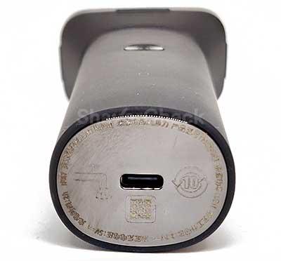 Xiaomi's USB-C charging port.