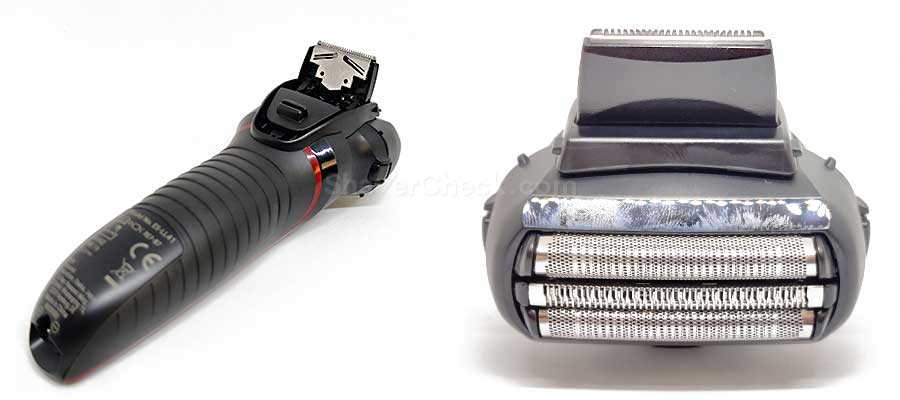 The extended trimmer of the Panasonic ES-LL41-K.