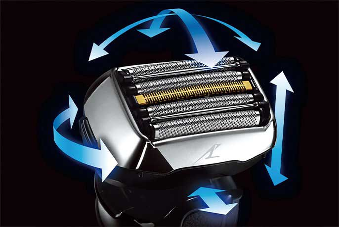 Panasonic Arc 5 revision G flexible shaving head.