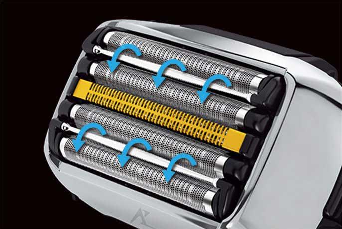 Panasonic Arc 5 revision G (2021) comfort rollers.