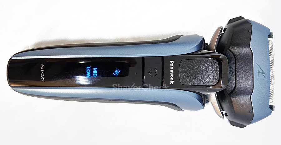 Front view of the Panasonic Arc 5 ES-LV5U.